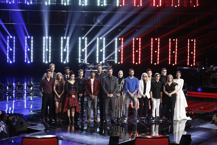 the voice us 9 16 november