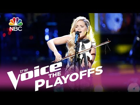 "The Voice 2017 Natalie Stovall - The Playoffs: ""Callin' Baton Rouge"""