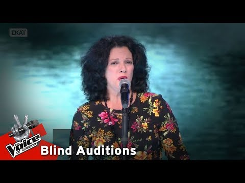 Τίνα Κομιώτη - Time to say goodbye | 9o Blind Audition | The Voice of Greece