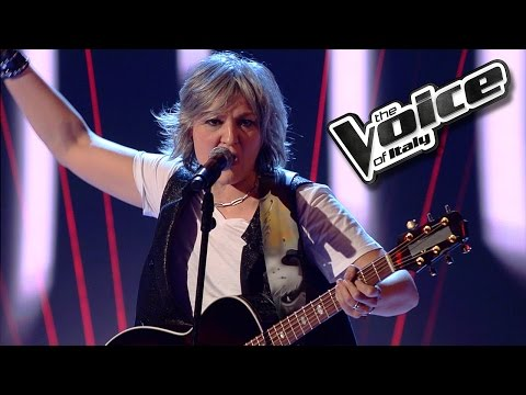 Virna Marangoni - Roadhouse Blues - The Voice of Italy 2016: Blind Audition