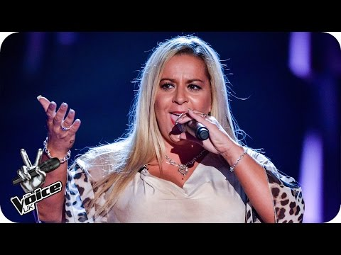 Lisa Wallace performs 'Last Dance'  - The Voice UK 2016: Blind Auditions 7