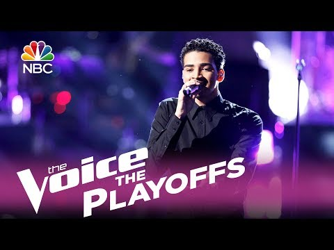 "The Voice 2017 Anthony Alexander - The Playoffs: ""Perfect"""