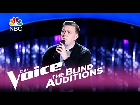 "The Voice 2017 Blind Audition - Gary Carpentier: ""Home"""