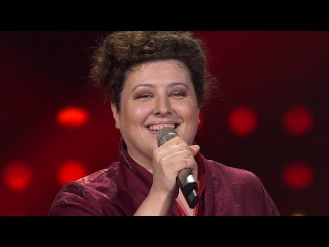 "Tajana Belina: ""His Eye Is On The Sparrow"" - The Voice of Croatia - Season2 - Blind Auditions1"