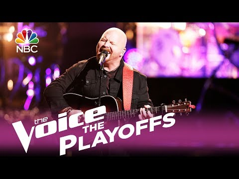 "The Voice 2017 Red Marlow - The Playoffs: ""Chiseled in Stone"""