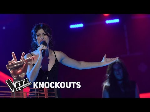 Knockout #TeamTini: Juliana Gallipoliti vs Camila Molina - La Voz Argentina 2018