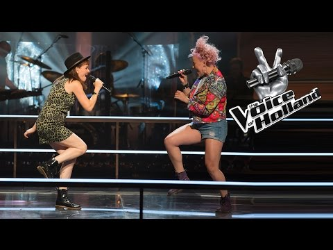 Jennie Lena vs. Leonie Bos – Roar (The Battle | The voice of Holland 2015)
