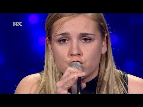 "Petra Vurušić: ""One Night Only"" - The Voice of Croatia - Season2 - Blind Auditions3"