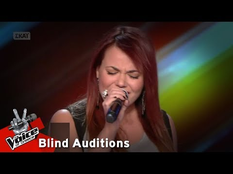 Κατερίνα Δημητρίου - Killing me softly with his song | 14o Blind Audition | The Voice of Greece