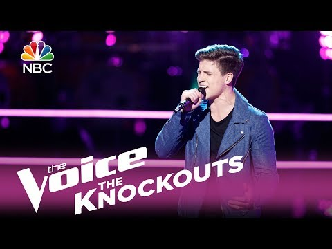 "The Voice 2017 Knockout - Jeremiah Miller: ""Sorry"""