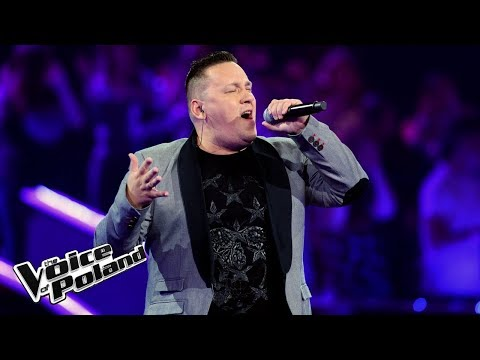 "Piotr Kwiatkowski - ""When a Man Loves a Woman""  - The Voice of Poland 8"