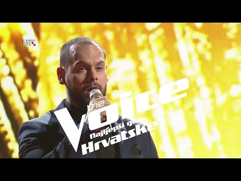 "Edgar Rupena: ""Adagio"" - The Voice of Croatia - Season2 - Live1"