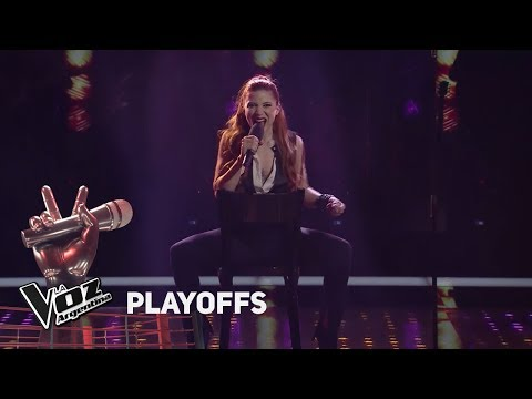 "Playoffs #TeamSole: Agostina canta """"Man! I feel like a woman"" de S. Twain - La Voz Argentina 2018"