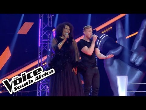 Sibongile Sibeko and Jono Grayson sing 'Crazy in Love' | The Battles | The Voice SA