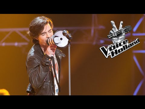 Dion Cuiper – Feeling Good (The Blind Auditions | The voice of Holland 2015)