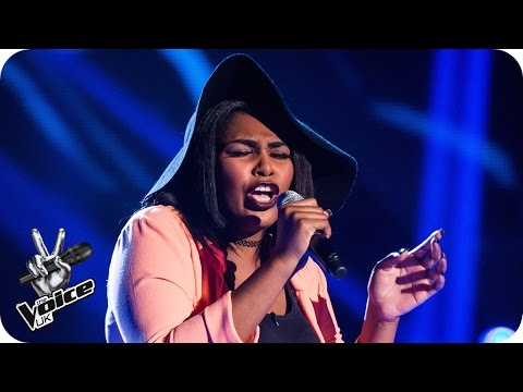 Faith Nelson performs 'Earned It'  - The Voice UK 2016: Blind Auditions 7