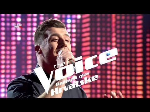 "Alen Đuras: ""Ozdravi mi ti"" - The Voice of Croatia - Season2 - Live1"