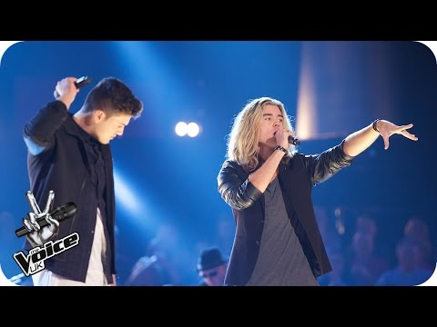 Bradley Waterman Vs Rick Snowdon: Battle Performance - The Voice UK 2016 - BBC One