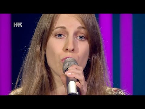 "Ana Bustruc: ""Torn"" - The Voice of Croatia - Season2 - Blind Auditions3"