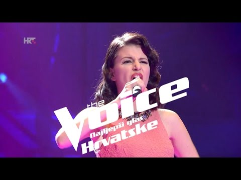 "Kristina Krolo: ""Don't Cry For Louie"" - The Voice of Croatia - Season2 - Knockout 2"