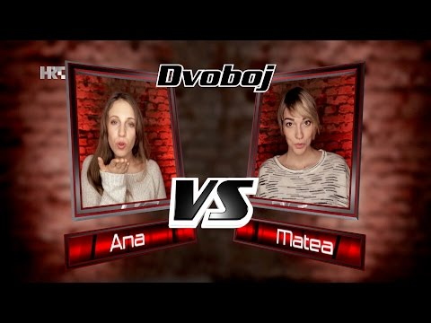 "Ana vs. Matea: ""It Must Have Been Love"" - The Voice of Croatia - Season2 - Battle1"