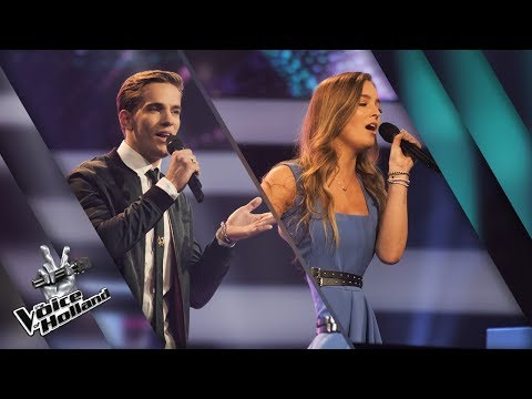 Bram Houg vs. Silke van de Klundert – Wings | The voice of Holland | The Battle | Seizoen 8