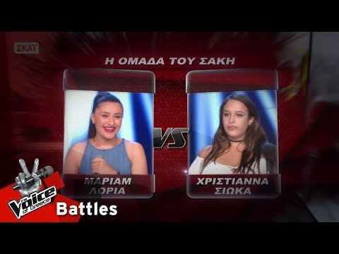 Μάριαμ Λόρια vs Χριστιάννα - And i am telling you i'm not going | 2o Battle | The Voice of Greece