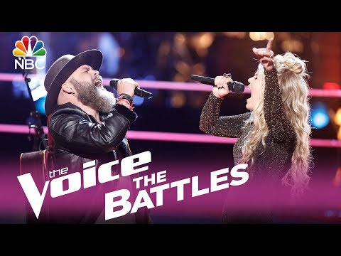 "The Voice 2017 Battle - Adam Cunningham vs. Natalie Stovall: ""Boondocks"""