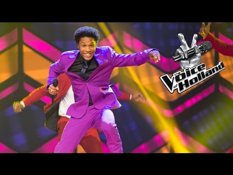Jared Grant – I Feel Good (The voice of Holland 2015 | Liveshow 1)