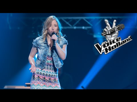 Melissa Meewise - Thinking Of You (The Blind Auditions | The voice of Holland 2015)