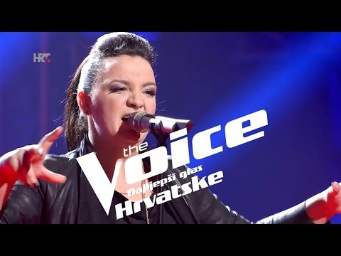 "Mirta Dautović: ""Russian Roulette"" - The Voice of Croatia - Season2 - Knockout 2"
