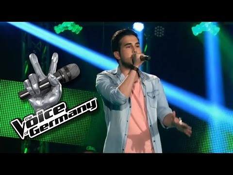 Sugar - Maroon 5 | Kerem Karaköse Cover | The Voice of Germany 2016 | Blind Audition
