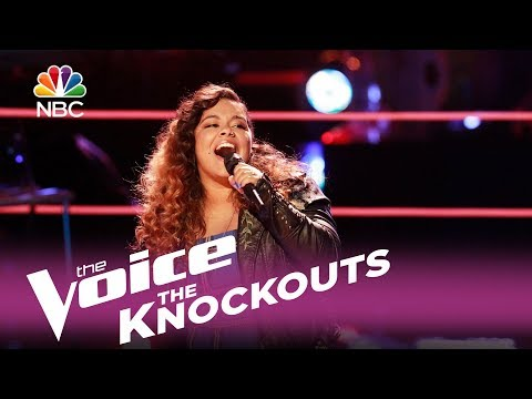 "The Voice 2017 Knockout - Brooke Simpson: ""(You Make Me Feel Like) A Natural Woman"""