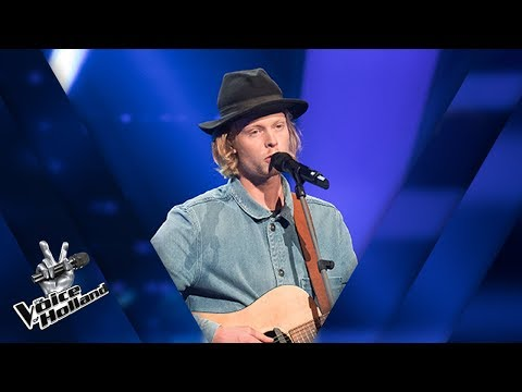 Jim van der Zee - Amar Pelos Dois | The voice of Holland | The Blind Auditions | Seizoen 8