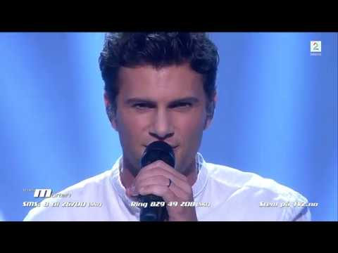 Sebastian James Hekneby - Sound Of Silence (The Voice Norge 2017)