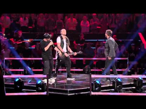"The Voice of Poland VI - Andrzej Piaseczny vs. Tomson&Baron -  ""Blame it on the Boogie"""