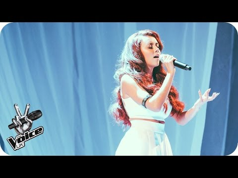 Lydia Lucy performs 'I'll Be There': The Live Semi-Finals - The Voice UK 2016