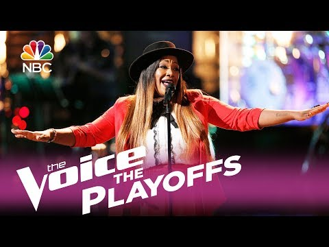 "The Voice 2017 Keisha Renee - The Playoffs: ""Love Can Build a Bridge"""