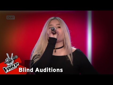 Ιωσηφίνα Χριστοδούλου - Riptide | 14o Blind Audition | The Voice of Greece