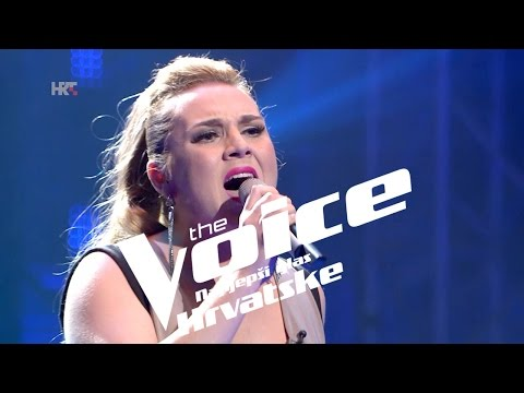 "Petra Vurušić: ""One Moment In Time"" - The Voice of Croatia - Season2 - Knockout 2"