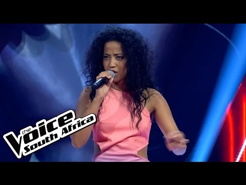 "Chanel Davids sings ""Moments Away"" 