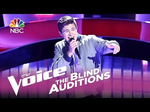 "The Voice 2017 Blind Audition - Jeremiah Miller: ""Slow Hands"""