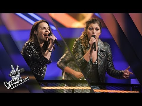 Milou Hesselink vs. Tessa Looijen – Shake It Off | The voice of Holland | The Battle | Seizoen 8