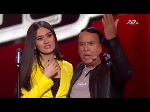 Banu Shujai - Love The Way You Lie| Blind Audition | The Voice of Azerbaijan 2015
