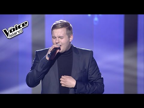 Sigvaldi Helgi - I'm Not The Only One | The Voice Iceland 2015 | Final