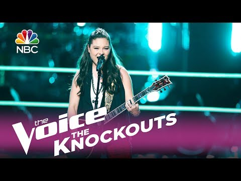 "The Voice 2017 Knockout - Moriah Formica: ""Behind These Hazel Eyes"""