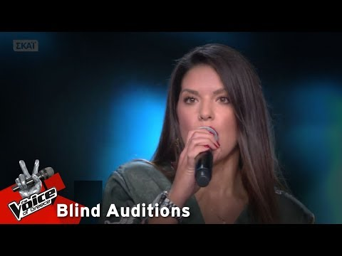 Ματθαία Σπιταδάκη - I put a spell on you | 9o Blind Audition | The Voice of Greece
