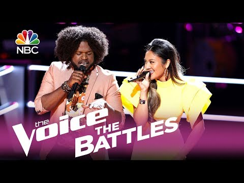 "The Voice 2017 Battle - Davon Fleming vs. Maharasyi: ""I'm Your Baby Tonight"""