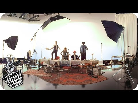 The Voice UK Photo Shoot: Access All Areas 360