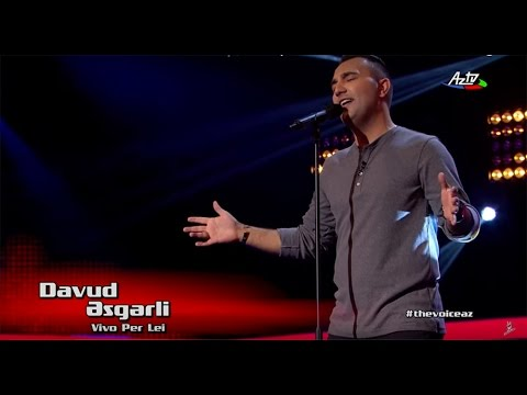 Davud Asgarov - Vivo Per Lei | Blind Audition | The Voice of Azerbaijan 2015